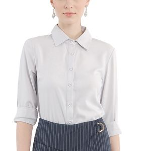 Tops - Classic Button Down Blouse